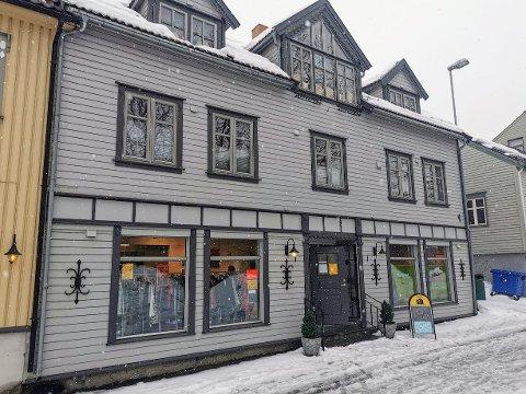 NY: På Jaklinsplass åpnet det mandag en splitter ny butikk.