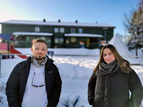 BARNEHAGE: Arild Høgtun og Marita Eilertsen frykter at nye småbarnsfamilier ikke vil få gleden av barnehagen.