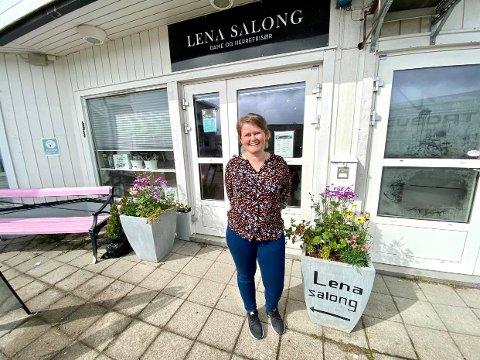 FYLLER 20 ÅR: Lena Kristin Størkersen Ingulfsen kunne i april feire 20 års drift.