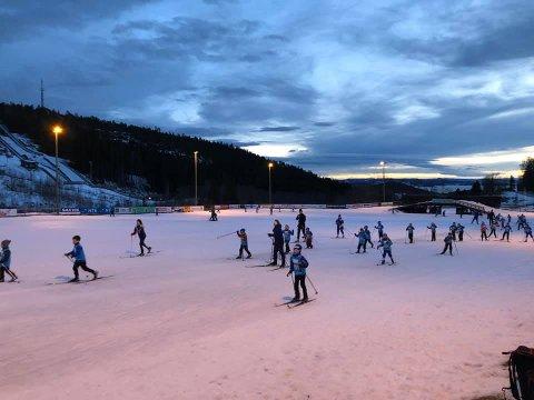 STEINKJER SKISTADION: Rapportene fra skitreningene tyder på at Steinkjer Skiklubb har gjort en svært god jobb med rekrutteringen foran den nye sesongen. Her fra avslutningen på den forrige.