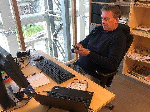 RUNE HJELPER DEG: Har du trøbbel med innlogging? Ikke fortvil, nå kan du få hjelp! Fredag sitter Rune Wasshaug og flere fra Trønder-Avisa-konsernet klar til å hjelpe deg over. Møt opp i Steinkjer, Inderøy eller Levanger og få bistand!
