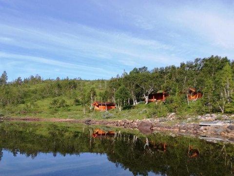 Denne fjellhytta ved Skjækervatnet ble solgt for 600.000 kroner over takst.