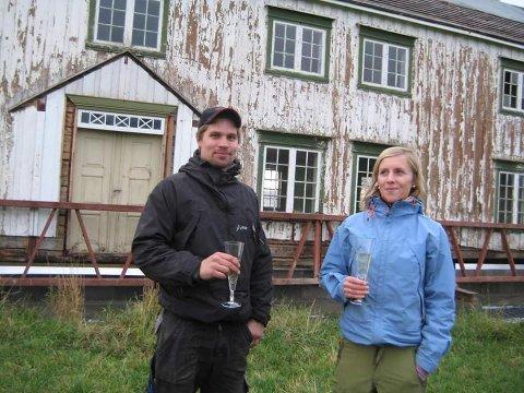 HUSFRUA: Slik så Husfrua ut i 2008. Per Magnus Værdal og Lise Lyngsaunet Værdal hadde store planer for trønderlånet.