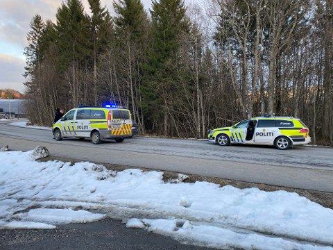 PÅGREPET: Etter å ha truet ansatte på Coop Prix i Namsos med kniv onsdag, ble mannen i 20-årene pågrepet i Kleppen kort tid etterpå. Nå blir han varetektsfengslet i fire uker.