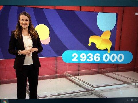 SNÅSA-MILLIONÆR: Det var datamaskinen Embla som sikret en mann fra Snåsa 2,9 millioner kroner i Joker-premie lørdag.