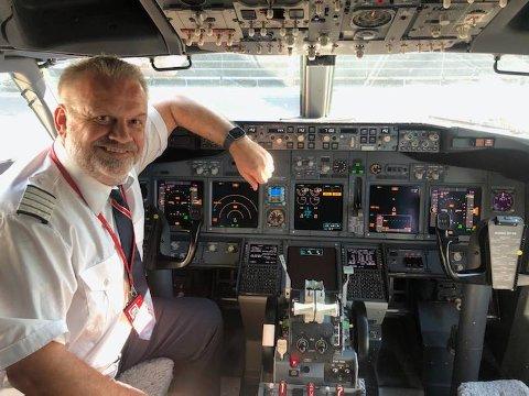 TILBAKE: Det er «hallelujah»-stemning i Norwegian for tiden. Hadde selskapet brukket ryggen, hadde piloten Ole Lasse Holmlimo funnet seg et annet yrke. – Aldri i verden om jeg hadde gått til Wizz Air.