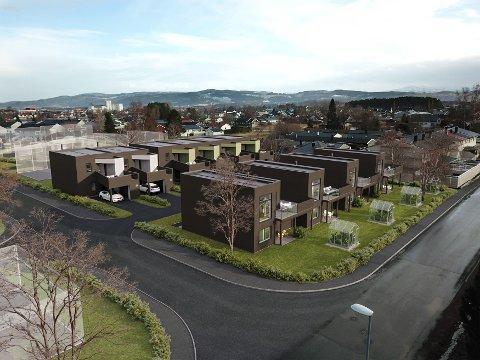 NYTT BOLIGPROSJEKT: I Einervegen på Ørmelen skal det bygges ti nye boliger.