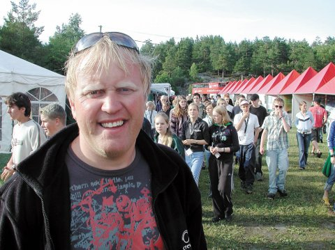 Gir seg som festivalsjef etter 22 år med Skjærgårds M&M.