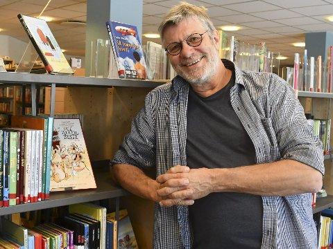 Suksess: Peter Svalheim har loset biblioteket i Tvedestrand gjennom en vellykket forvandlingsprosess. I dag er Tvedestrand folkebibliotek en viktig møteplass og arena for mange grupper av kommunens innbyggere.Foto: Mette Urdahl