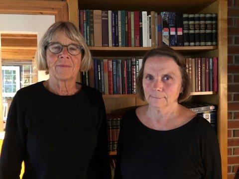 Melder oppbud: Styrelederne Marit Aass (t.v) i Stiftelsen Bokbyen ved Skagerrak og Anna Hjeltnes i Bokbyen Drift melder oppbud i sine respektive selskaper. Det ble det fattet styrevedtak på tidligere denne uken.