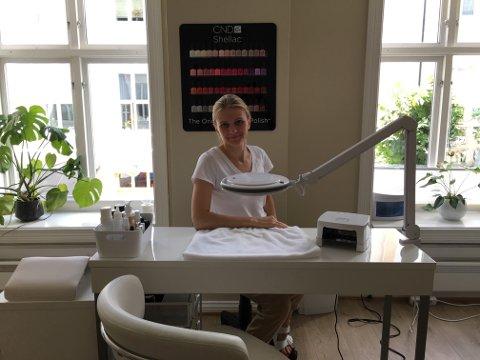 Hudpleiegründer: Olga Vestervik åpner salong i Tvedestrand i august.