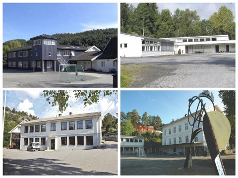 Fire skole legges ned, og erstattes med en ny fra og med skolestart 2023.