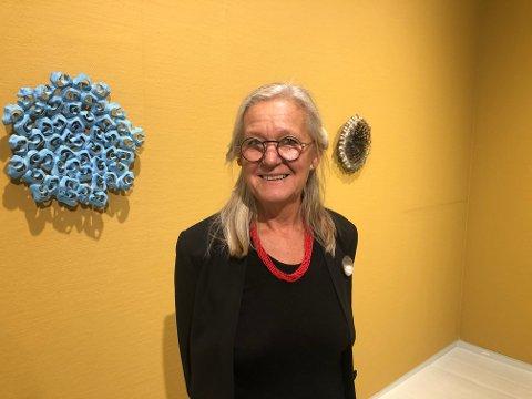 Bomuldsfabriken: Sidsel Hanum setter et sterkt preg på utstillingen PRESENT. Hun er en av fem keramikere som presenteres i kunsthallen. Foto: Marianne Drivdal