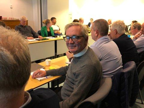 Tirsdag ettermiddag gjorde Jens Ove Kristiansen comeback i kommunestyret, 35 år etter at han var der sist.