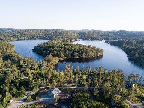 Hyttetomter: Eksjø er et populært hytteområde på Vegårshei.