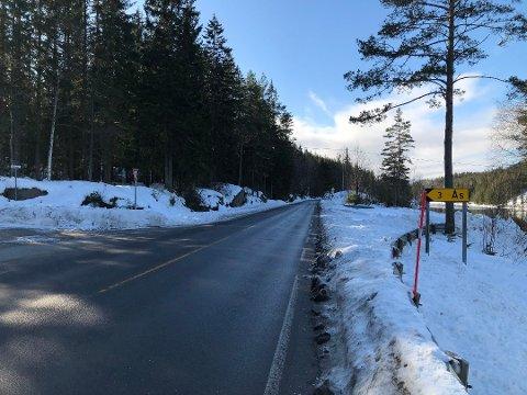 Veien inn til Ås er i dag kommunal, men en av de mange veiene som foreslås nedklassifisert slik at beboerne må sørge for vedlikehold og brøyting selv. De bor som langs private veier på Vegårshei i dag, får et lite tilskudd fra kommunen, men det dekker bare en liten del av utgiftene. Arkivfoto