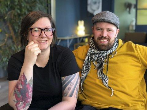 Bonzo: Erlend Myhren og Janne Lindland har i år igjen hatt en hektisk, slitsom, men fantastisk sommer på Bonzo bakeri og café.
