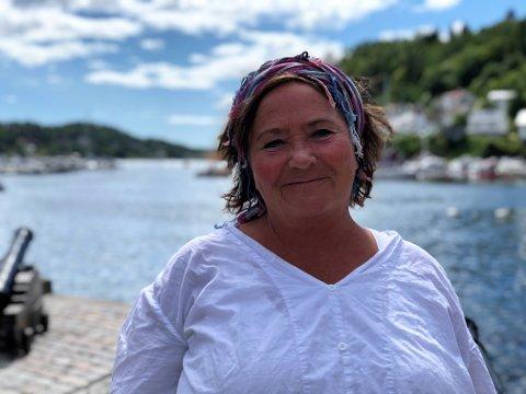 Leder: Siw Johannessen er leder av Kystkulturuka i Tvedestrand.
