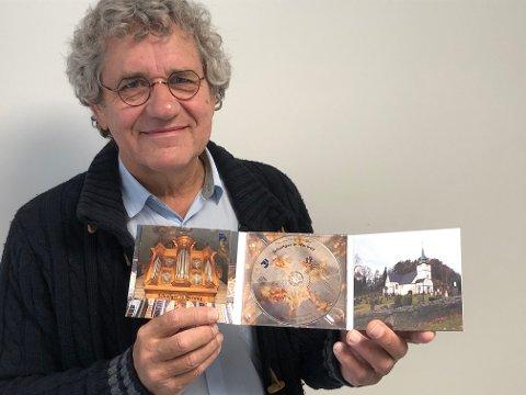 Kantor Hans van der Meijden gir ut denne CD'en, med et lite hefte som forteller om det unike orgelet som Dypvåg kirke har fått.