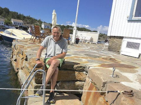 Suksess i business: Marinbiolog Åsmund Baklien, som er bosatt i Den Blå Lanterne i Lyngør, har bygget opp en solid formue. Arkivfoto