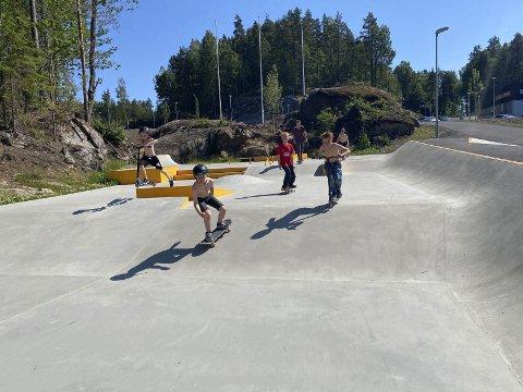 Spillemidler: Skateparken har fått to millioner kroner i spillemidler. Arkivfoto