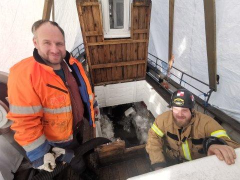 Skøyta Glimt eies av Kristian Bording.