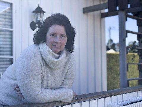 I sorg: Mai-Britt mistet sin Øyvind i juli i fjor. Nå jobber hun med finne nytt livsmot.