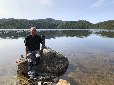 Ufsvatn: Området som Torgeir Selås vil utvikle ligger naturskjønt til. Arkivfoto