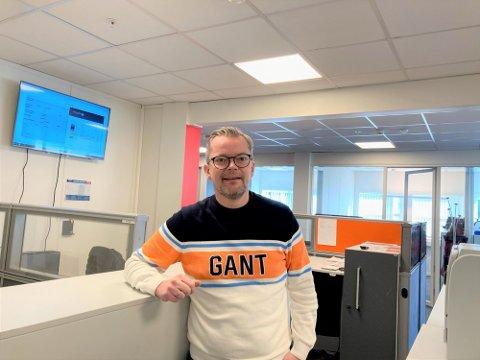 Geir Grindland er daglig leder i InkassoPartner i Kristiansand. Han forteller at inkassogjelder øker mest hos de unge.