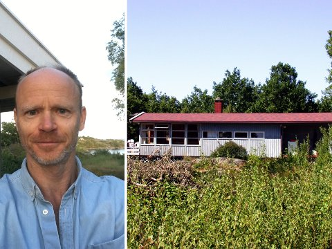 Ferieparadis: La det ikke være noen tvil; Harald Eia elsker Sandøya! Hytta i Kilen ble bygget i 1968, og nå ønsker Eia å rive den og bygge en helt ny. Slik at den blir tilpasset storfamilien og kan brukes videre i generasjoner.
