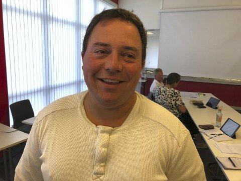 Kamp om lederverv: Ole Christian Gliddi ble tirsdag valgt til ny leder av teknikk, plan og naturutvalget, men ikke uten kamp.