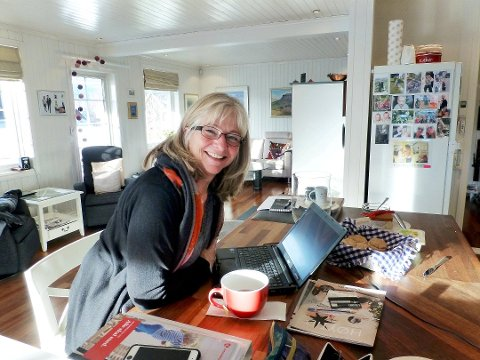 KLAR FOR SAMLING: Aps fylkessekretær Synnøve Brenden har opplegget klart for å samle Arbeiderpartiene i ett innlandsrike. Foto: Kjell Haugerud