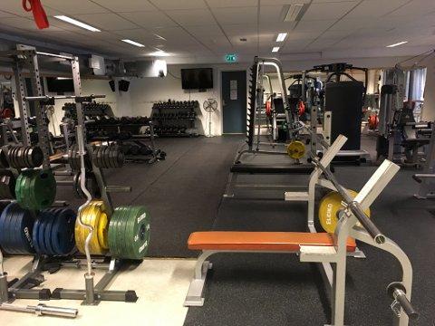 Velutstyrt: Trimrommet i Vestre Slidre kulturhus er eit populært og rimeleg treningstilbod, men no berre for idrettslagsmedlemmer.