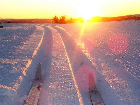 Gode forhold: Det er framleis gode skiforhold i Leirin Skiløyper, sjølv om dette er eit arkivbilete.