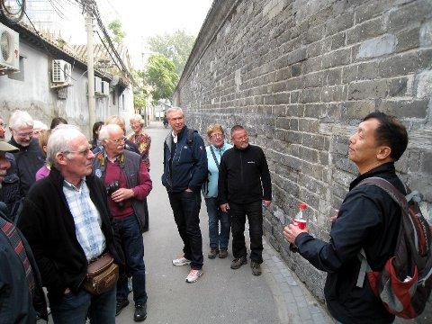 Høydepunkt: Den kinesiske mur blir et av høydepunktene på turen. Her fra en tidligere tur med avisas lesere.foto: Morten Stensby