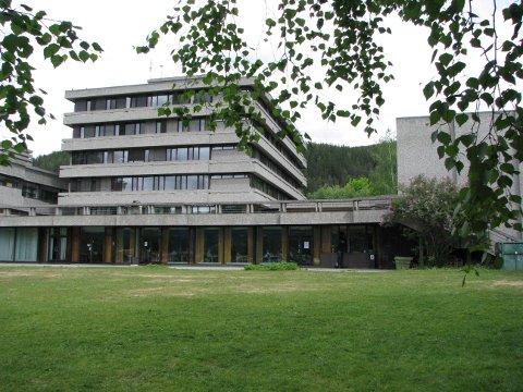 Kulturhuset på Fagernes.