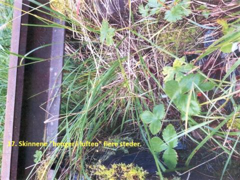 Tilstandsrapport: Sørskogen Grunneigarlag har sendt Nord-Aurdal kommune  21 bilder som dokumenterer status for Valdresbanens forfall. Ordfører Inger Torun Klosbøle er klar på at noe må gjøres.