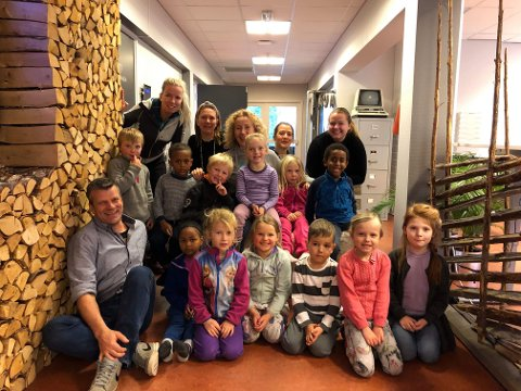 Bookinggruppa: Denne gjengen er bookinggruppa for Vesle-Vinje.