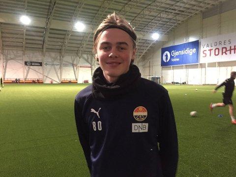 Andreas Nyhagen håper å få spille mot sine gamle lagkamerater.