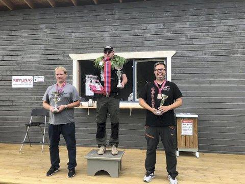 Vinner: Vinner Anders Mikkelsen fra Valdres MBK, andreplass Christian Hovden, Kristiansand MBK og tredjeplass Petter Sølvberg, Oslo MBK.