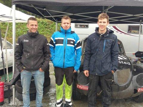 F.v. Steffen Raaholdt, Alexander Hauglid og Petter Leirhol.