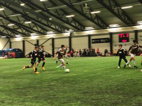 2018: Fagernes G14 i brunt mot Bagn/Begnadalen/Hedalen i svart. Det ble 2-0 til Fagernes.