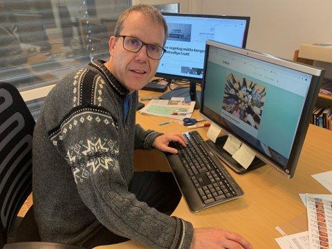 GRUNNLEGGER: Alexander Meyer er grunnleggeren av Grønn Megafon, en nettavis om miljø for elever