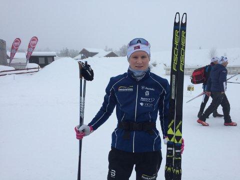 God gjennomkjøring: Det ble ei grei gjennomkjøring for skiskytter Harald Øygard, som gikk 15 kilometer på snaut 34 minutter. Det holdt til plass nummer 100.