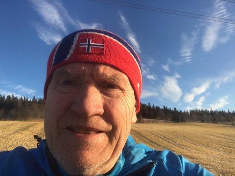 Nyvalg: Rykende ferskt bilde av den nye lederen i Innlandet Idrettskrets, Jan Arild Berg.