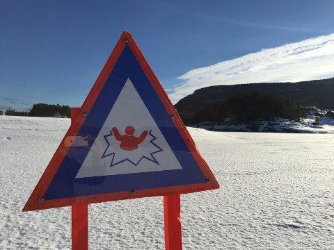 Fare: Du må passe deg utenfor Førsøddin på Leira og ved elveosen på Fagernes.