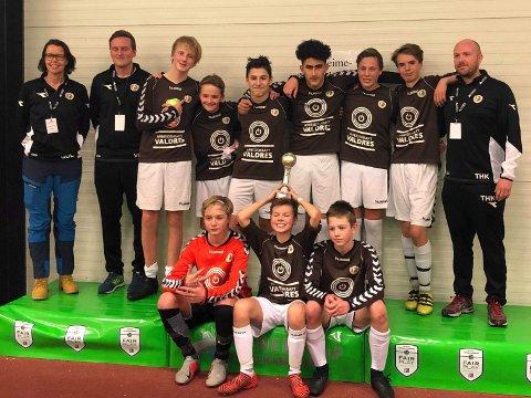 Seier: Fagernes IL G14 vant finalen i Etnedal Sparebank Cup med sifrene 4-0 over Vardal blå.