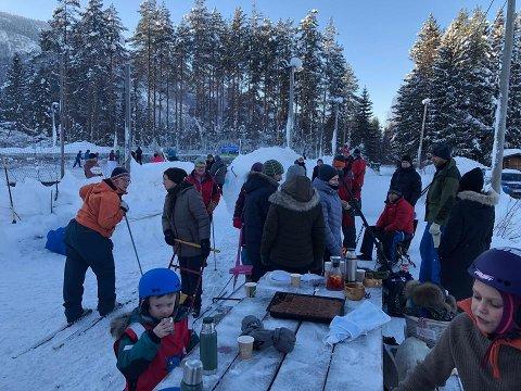 Rundt 65 personer kom innom det spenstige arrangementet på Skutemobanen.