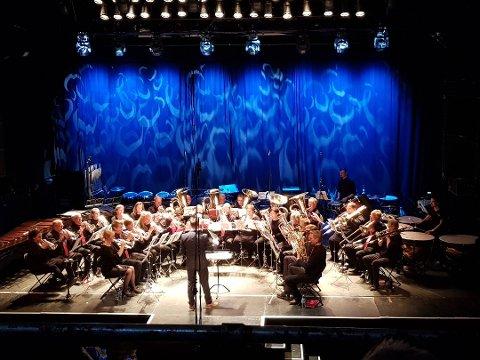 Valdres Brass Band imponerte dommerne i dag. Arkivfoto