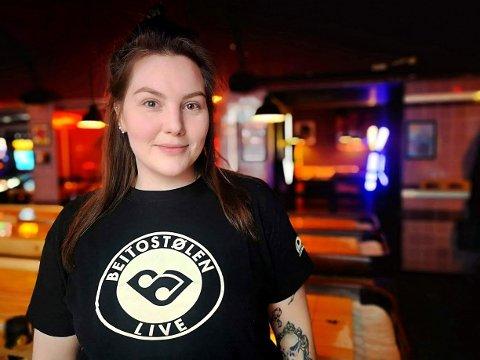 Sjef: Marte Henriksen Bollum er frivilligsjef under Beitostølen Live. Hun ber folk som ønsker å jobbe melde seg på festivalens hjemmesider.